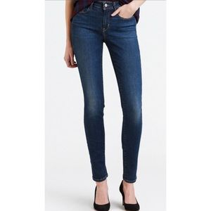 Levi's Mid Rise Stretch Skinny Jeans. Size 8